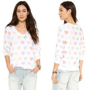 Wildfox Heart Candy Sweatshirt